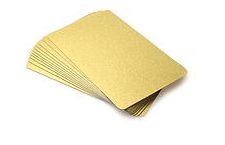 Metallic Cards